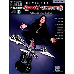 Hal Leonard Ultimate Ozzy Osbourne - Guitar Play-Along Series, Volume 64 (Book/CD) (699803)