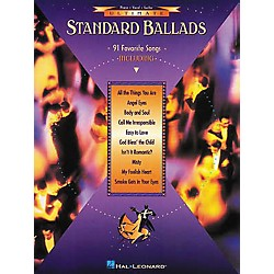 Hal Leonard Ultimate Standard Ballads Piano, Vocal, Guitar Songbook (310246)