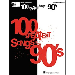 Hal Leonard VH1's 100 Greatest Songs of the 90's (Piano/Vocal/Guitar Songbook) (311527)