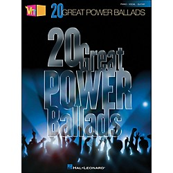 Hal Leonard VH1's 20 Great Power Ballads arranged for piano, vocal, and guitar (P/V/G) (311778)