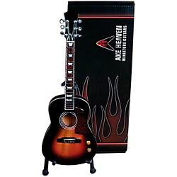 Hal Leonard Vintage Sunburst Acoustic Miniature Guitar Replica Collectible (124391)