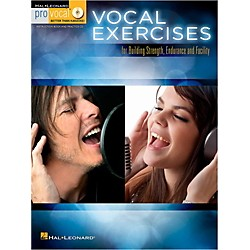 Hal Leonard Vocal Exercises for Building Strength, Endurance and Facility - Pro Vocal Series Book/CD (123770)