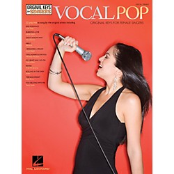 Hal Leonard Vocal Pop - Original Keys For Female Singers (312656)