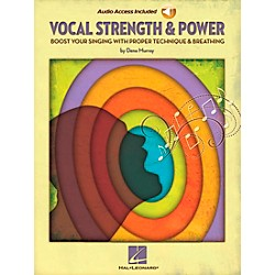Hal Leonard Vocal Strength & Power - Boost Your Singing With Proper Technique & Breathing (Book/CD) (311824)