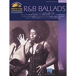 Hal Leonard Volume 20 R&B Ballads Piano Play-Along Piano Vocal & Guitar Songbook with CD (311163)