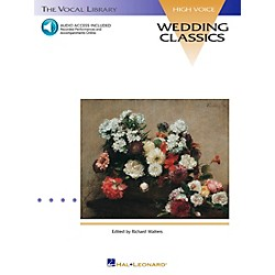Hal Leonard Wedding Classics For High Voice Book/CD (740053)