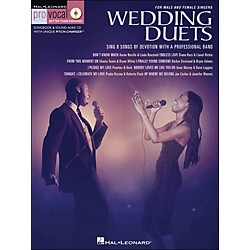 Hal Leonard Wedding Duets For Male & Female Singers Book/CD Volume 1 (740311)