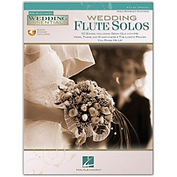 Hal Leonard Wedding Flute Solos - Wedding Essentials Series (Book/CD) (842457)