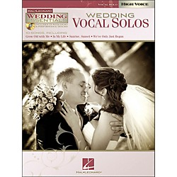 Hal Leonard Wedding Vocal Solos - Wedding Essentials Series For High Voice Book/CD (311945)