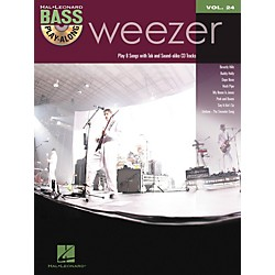 Hal Leonard Weezer - Bass Play-Along Volume 24 Book/CD (700960)