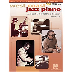 Hal Leonard West Coast Jazz Piano An In-Depth Look At The Style Of The Masters Book/CD (311364)