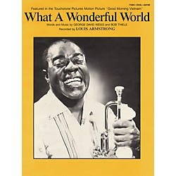 Hal Leonard What A Wonderful World (355528)