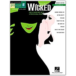 Hal Leonard Wicked - Pro Vocal Songbook & CD For Female Singers Volume 36 (740392)