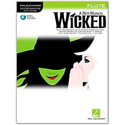 Hal Leonard Wicked For Flute Book/CD (842236)