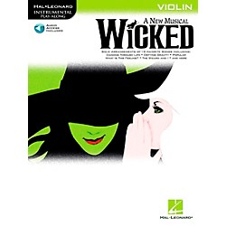 Hal Leonard Wicked For Violin Book/CD (842243)