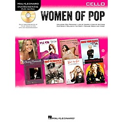 Hal Leonard Women Of Pop For Cello - Instrumental Play-Along Book/CD (842659)