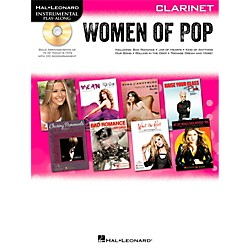 Hal Leonard Women Of Pop For Clarinet - Instrumental Play-Along Book/CD (842651)