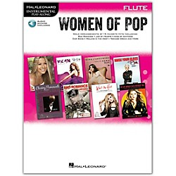 Hal Leonard Women Of Pop For Flute - Instrumental Play-Along Book/CD (842650)