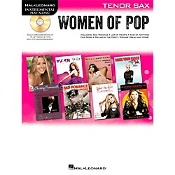 Hal Leonard Women Of Pop For Tenor Sax - Instrumental Play-Along Book/CD (842653)