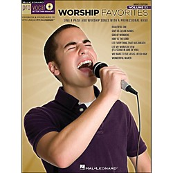 Hal Leonard Worship Favorites - Pro Vocal Songbook & CD For Male Singers Volume 53 (740431)