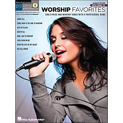 Hal Leonard Worship Favorites Pro Vocal Songbook & CD For Female Singers Volume 52 (740430)