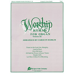 Hal Leonard Worship Hymns For Organ - Volume 3 (103026)