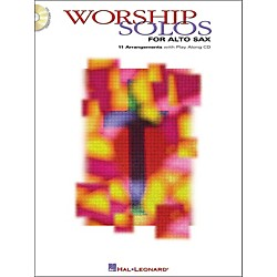 Hal Leonard Worship Solos For Alto Sax Book/CD (841839)