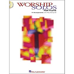 Hal Leonard Worship Solos For Flute Book/CD (841836)