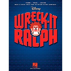 Hal Leonard Wreck-It Ralph - Music From The Motion Picture Soundtrack for Piano/Vocal/Guitar PVG (116340)