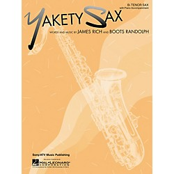 Hal Leonard Yakety Sax for B Flat Tenor Saxophone with Piano Accompaniment Songbook (849028)