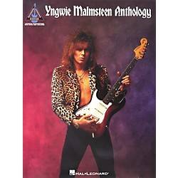 Hal Leonard Yngwie Malmsteen Anthology Guitar Tab Songbook (690577)