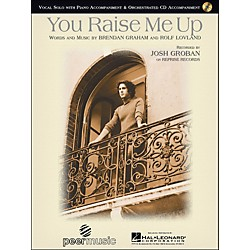 Hal Leonard You Raise Me Up By Josh Groban Vocal Solo with CD (1095)