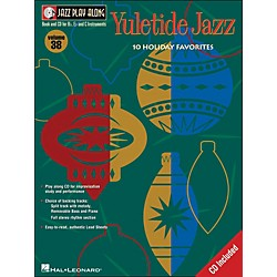 Hal Leonard Yuletide Jazz Volume 38 Book/CD Jazz Play Along (843034)