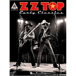 Hal Leonard ZZ Top Early Classics Guitar Tab Songbook (121684)