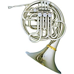 Hans Hoyer 7801 Nickel Double French Horn (7801NSA)