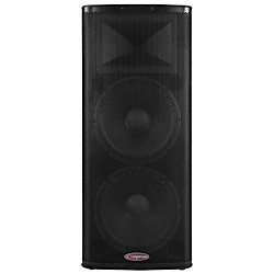 "Harbinger 1200W Dual 15"" Powered Speaker with BBE Processing (HPX215-BBE)"