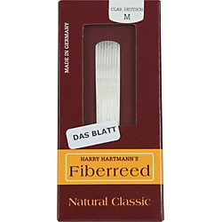 Harry Hartmann Natural Classic Fiberreed German Clarinet Reed (FIB-NATCLASS-DK-MS)