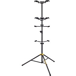 Hercules Stands GS526B Guitar Rack with 6 Piece Folding Yokes (GS526B)