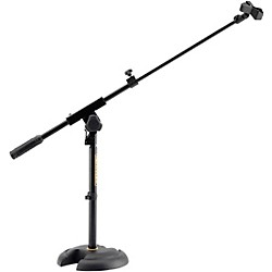 Hercules Stands Low-Profile, Short Microphone Boom Stand (MS120B)
