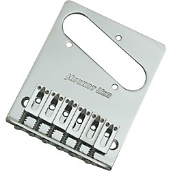 Hipshot Stainless Steel Tele Bridge 3 Hole Mount With Standard Saddles (44100-36C)
