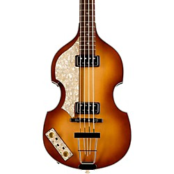 Hofner Vintage '62 Violin Left-Handed Electric Bass Guitar (H500/1-62L-O)
