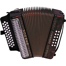 Hohner 3500 Corona II FBbEb Diatonic Accordion (3500FR)
