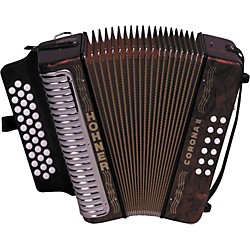 Hohner 3500 Corona II GCF Diatonic Accordion (3500GR)