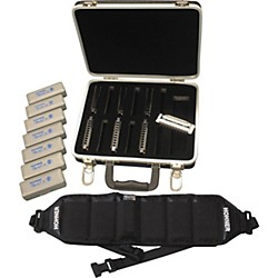 Hohner 560/20 Special 20 Harmonica Pack with Case and Belt (PPST)
