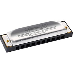 Hohner 560 Special 20 Harmonica with Country Tuning (560BX-CTB)