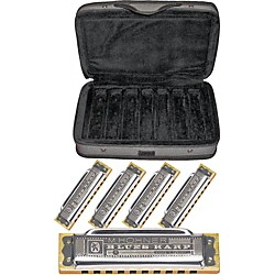 Hohner CASE OF BLUES Harmonica 5-Pack (COB)