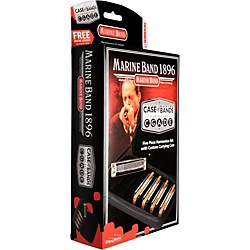 Hohner Case of Marine Bands Harmonica 5-Pack (MBC)