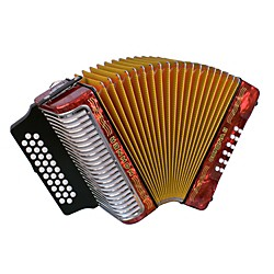 Hohner Corona II 3500 EAD Accordion (3500ER)