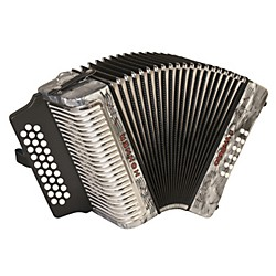 Hohner Corona II 3500 FBbEb Accordion (3500FGR)