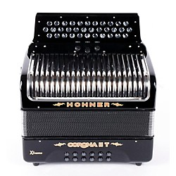 Hohner Corona II T Xtreme FBbEb Accordion (USED005001 CXIIFB)